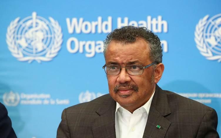 رئيس منظمة الصحة العالمية في الحجر الصحي